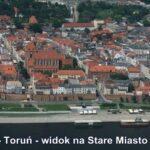 Wisła - Toruń Old Town view