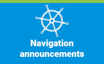 Navigation announcements